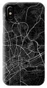 Frankfurt Germany Dark Map IPhone Case