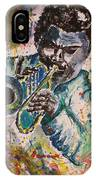 Freddie Hubbard Jazz IPhone Case
