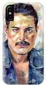 Freddie Mercury Portrait IPhone Case