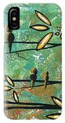 Free As A Bird By Madart IPhone Case