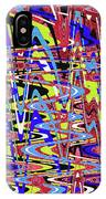 Freeway Of Colors Abstract IPhone Case
