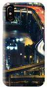 Freeway Winds Through Portland, Oregon At Night IPhone Case by Bryan Mullennix