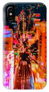 Fremont Street For One From The Heart IPhone Case