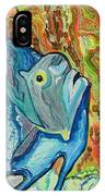 French Angle Fish IPhone Case
