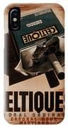 French Cigarette Ad, 1934 IPhone Case