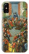 French Court, 1458 IPhone Case