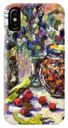 French Provence Cooking Still Life IPhone Case