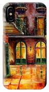 French Quarter Alley IPhone Case