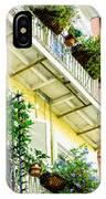 French Quarter Balconies - Nola IPhone Case
