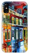 French Quarter Charm IPhone Case