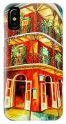 French Quarter Corner IPhone Case