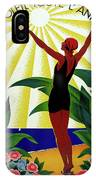 French Riviera, Girl On The Beach, France IPhone Case