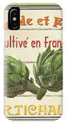 French Vegetable Sign 2 IPhone Case