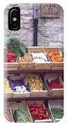 French Vegetable Stand IPhone Case