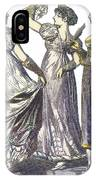 French Womens Fashion, 1808-09 IPhone Case