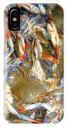 Fresh Crab In Market IPhone Case