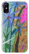 Fresh Cut Flowers IPhone Case