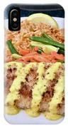Fresh Grilled Mahi Mahi IPhone Case