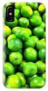 Fresh Lemons IPhone Case