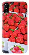 Fresh Picked Strawberries IPhone Case