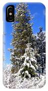 Fresh Winter Solitude IPhone Case