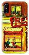 Fressers Takeout Deli IPhone Case