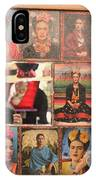Frida Kahlo Display Picts IPhone Case