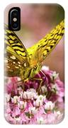 Fritillary Butterfly On Flowers IPhone Case