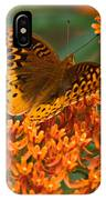 Frittalary And Milkweed IPhone Case