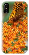 Frittalary Milkweed And Nectar IPhone Case