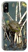 Frog On A Stick IPhone Case