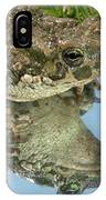 Frog Reflection IPhone Case