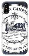 Fromage Label 1 IPhone Case by Debbie DeWitt