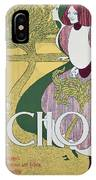 Front Cover Of The Echo IPhone Case