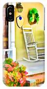 Front Porch 2 IPhone Case