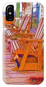 Front Porch On An Old Country House  1 IPhone Case