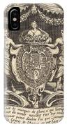 """Frontispiece For """"the Combat At The Barrier"""" IPhone Case"""