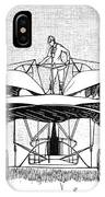 Frost Flying Machine, 1891 IPhone Case