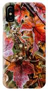 Frosted Fall IPhone Case