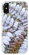 Frosted Fern IPhone Case