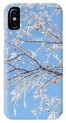 Frosty Branch IPhone Case