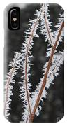 Frosty Branches IPhone Case