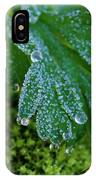 Frosty Dewdrops IPhone Case