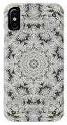 Frosty Lace Doily IPhone Case