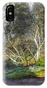 Frosty Morning Near Nant Clwyd, North Wales IPhone Case