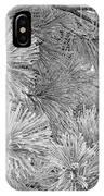 Frosty Pine Tree IPhone Case