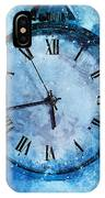 Frozen In Time IPhone Case