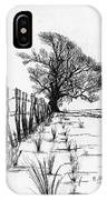 Frozen Landscape Canada IPhone Case