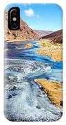 Frozen Stream In Chile IPhone Case