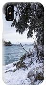 Frozen View Of Ellingson Island IPhone Case